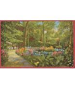 MILWAUKEE WI Ravine Grant Park Linen Floral - $6.50
