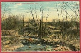 MILWAUKEE WI Ravine Bridge Wisconsin Bergmann - $10.00