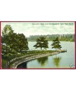 WORCESTER MASSACHUSETTS Lake Quinsigamond Park Wharf MA - $10.00