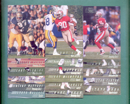 1994 Pacific Collection San Francisco 49ers Football Set  - $2.99