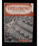 Vintage World War II Crochet Tatting Laces Edgings Patterns - $6.99