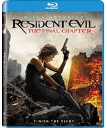 Resident Evil: The Final Chapter [2017, Blu-ray] - $6.95