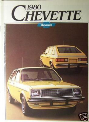 Primary image for 1980 Chevrolet Chevette Original Brochure