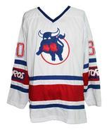Binkley  30 toronto toros retro hockey jersey white   1 thumbtall