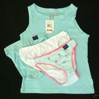 new LOT sz Small NAUTICA Sleep Top / 3 Bikini Panties CHARTER CLUB S