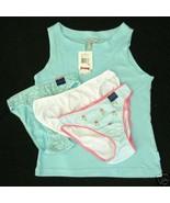 new LOT sz Small NAUTICA Sleep Top / 3 Bikini Panties CHARTER CLUB S - $15.00