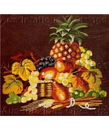 Rare Wilson Tropical Still Life Crewel Embroidery Kit  - $64.00