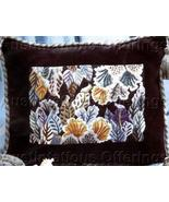 Elegant Sea Life Longstitch Needlepoint Pillow Kit 22 ct - $74.00