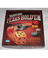 Yahtzee Texas Hold'em Edition Complete, Great Condition, Board Game Dice... - $21.29