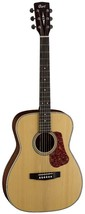 Cort Luce Series L-100C solid spruce top Acoustic Guitar Natural Satin - $247.49