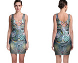 Dmt anonymous psychedelic hallucinogen bodycon dress thumb155 crop