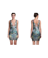 DMT anonymous Psychedelic Hallucinogen Bodycon Dress - $19.80+