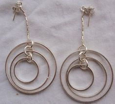 Double round hoop earrings 1 thumb200