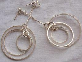 Double round hoop earrings 2 thumb200