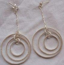Double round hoop earrings 3 thumb200