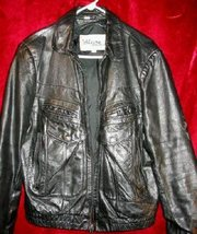 Mens Wilsons Genuine Leather Jacket Coat Thick 44  - $32.00