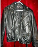 Mens Wilsons Bikers Leather Jacket Coat Thinsulate L - $79.99