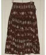 Ladies Crinkle Skirt Size Large ~ New ~ wts - $15.51