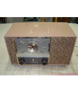 Zenith Model F728C Tube Radio Vintage Parts or Repair - $29.95