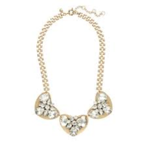 J.Crew Womens CRYSTAL AND METAL NECKLACE~*Cryst... - $55.00