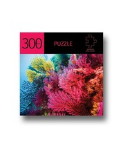 "Coral Design Jigsaw Puzzle 300 pc Durable Fit Pieces 11.5"" x 16"" Leisure"