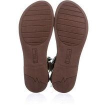 White Mountain Carson Gladiator Flat Sandals 603, Walnut, 6.5 US image 6