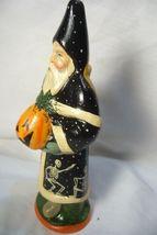 Vaillancourt Folk Art Halloween Santa, personally signed by Judi! image 4