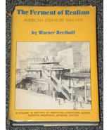 The Ferment of Realism American Literature 1884... - $3.00
