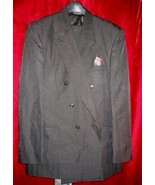 Mens Raffinati Black Suit Pants Jacket Tie 40 w/Bonus USA - $94.99