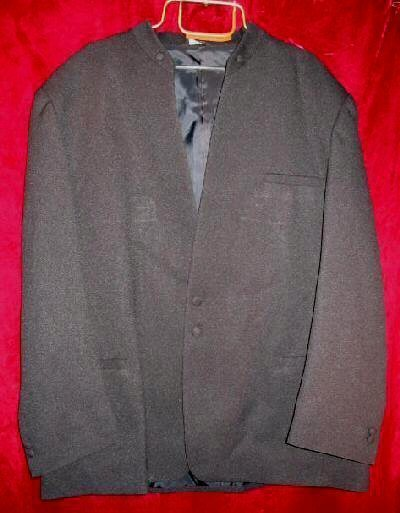 Mens Squire Club Black Suit Sports Jacket 50 R Bonus Bag