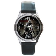 New Assassin's Creed: Revelations Ezio Leather Watch wristwatch Gift - $10.80
