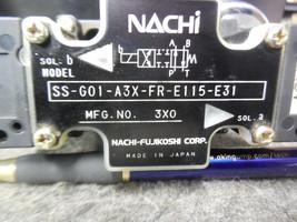 NACHI SS-G01-A3X-FR-E115-E31 Directional Control Valve image 2