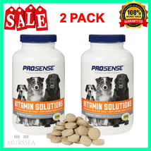 Dog Multi Vitamins For All Life Stages Health Care Chewable Tablets 180 ... - $15.83