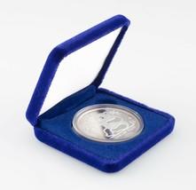 1989 Hong Kong Moneda Expo de Plata Prueba 1 oz Panda Medalla con / Caja - $692.96