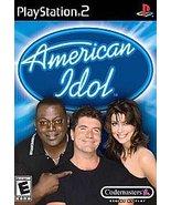 American Idol Sony PlayStation 2, 2003 Action Adventure FREE SHIPPING U.... - $6.82