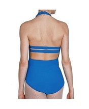 Bal Togs 6002 Women's Medium (8-10) Blue Double-Strap Back Leotard - $16.99