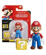 Year 2017 World of Nintendo Super Mario 4 Inch Figure MARIO with Questio... - $39.99