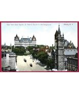 ALBANY NEW YORK NY State Capitol St Peters Church - $8.00
