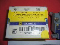 Square D Turret Head 9007 Switch Plug-in Unit without Head