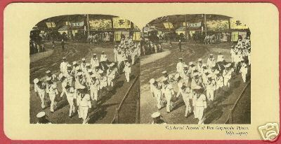 Primary image for TOKYO JAPAN Naval Funeral Vice Comm Shirose Stereoview