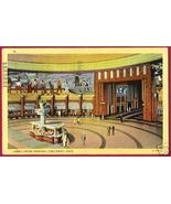 CINCINNATI OHIO Union Terminal Lobby 1941 LINEN OH - $7.00