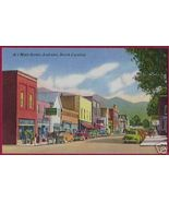 ANDREWS NORTH CAROLINA Main Street Cars Linen NC - $6.50