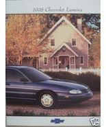 1998 Chevrolet Lumina Original Color Brochure - $8.00