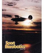 SPORT AEROBATICS MAGAZINE MAR. 1992 IAC PLANES & PILOTS - $5.00