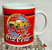 Coca Cola I'd Like To Buy The World A Coke Corvette ~ Ceramic Coffee Mug Tea Cup image 3