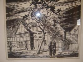 Wood Cut Print - $45.00