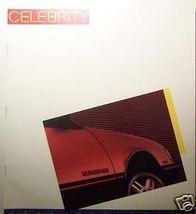 1986 Chevrolet Celebrity Brochure - $10.00