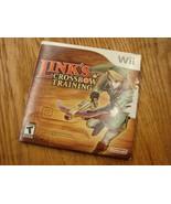 Link's Crossbow Training (Nintendo Wii, 2007) cd, case, docs, no crossbow - $9.80