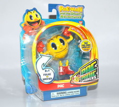 Bandai Pacman Rev and Spin Action Pac Panic Spinners - $20.78