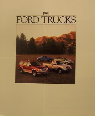Primary image for 1995 Ford Trucks Full Line Brochure - F Series, Ranger, Explorer, and more